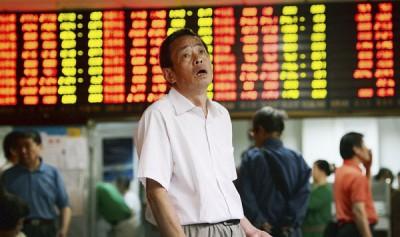 中国人の株下落
